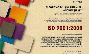 CTR – ISO/IEC 27001:2013