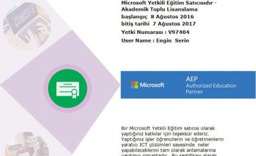Microsoft Yetkili Eğitim Satıcısı